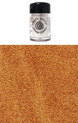 Happymade - Cosmic Shimmer - Sparkle Shakers - Gold Flame - 10ml.